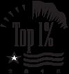 top 1% award