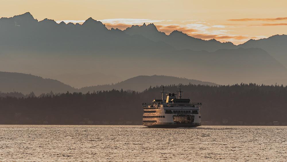 Brainbridge Island Ferry - John L. Scott