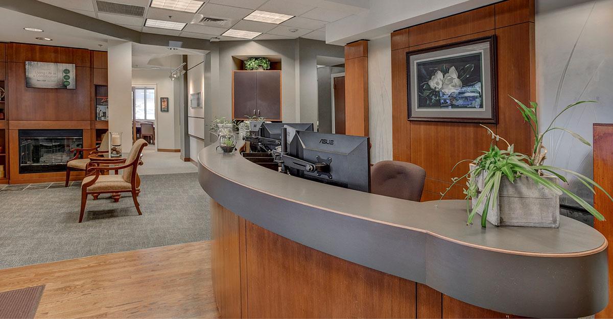 Silverdale Office Lobby - John L. Scott