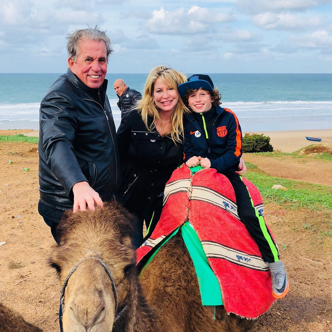 Camel riding in Morocco with The Weaver Team Real Estate