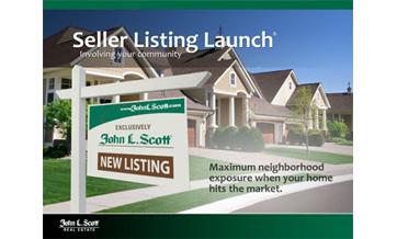 Seller's Listing Launch