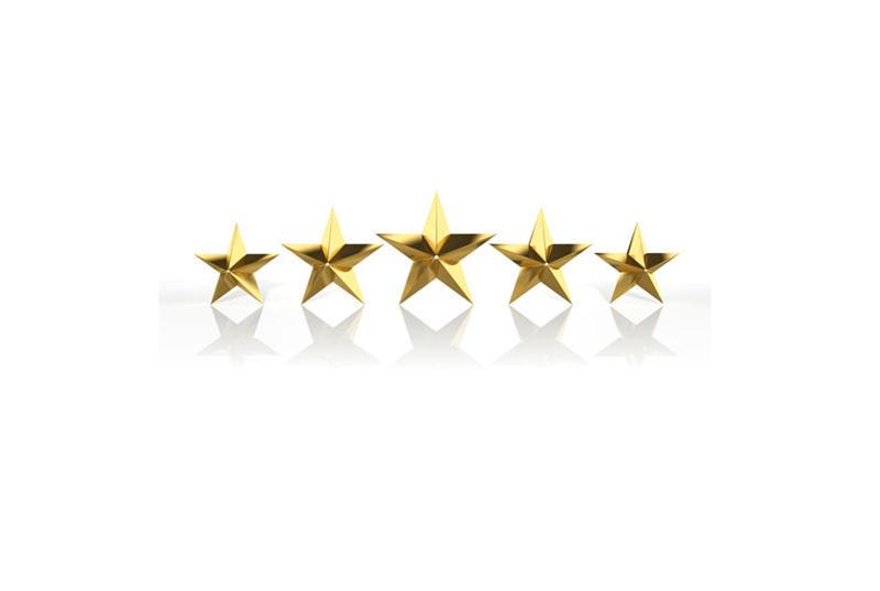 Five Stars Reviews