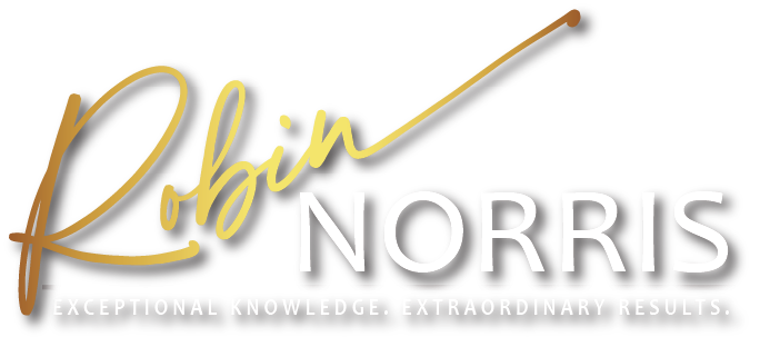 Robin Norris. Exceptional Knowledge. Extraordinary Results.