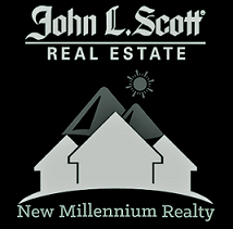 New Millennium Realty Logo Powered by John L Scott
